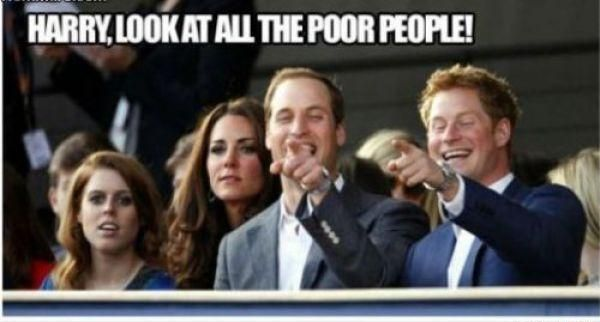 Sieh dir all die armen Menschen an, Harry