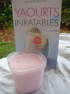 Yaourts cr meux la framboise la taverne de ginia recettes recette yaourt avec yaourtiere - Fabrication de yaourt maison sans yaourtiere ...