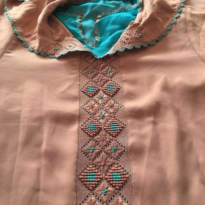 #Nouv - Couture et Broderie Maroc - الخياطة و الطرز المغربي
