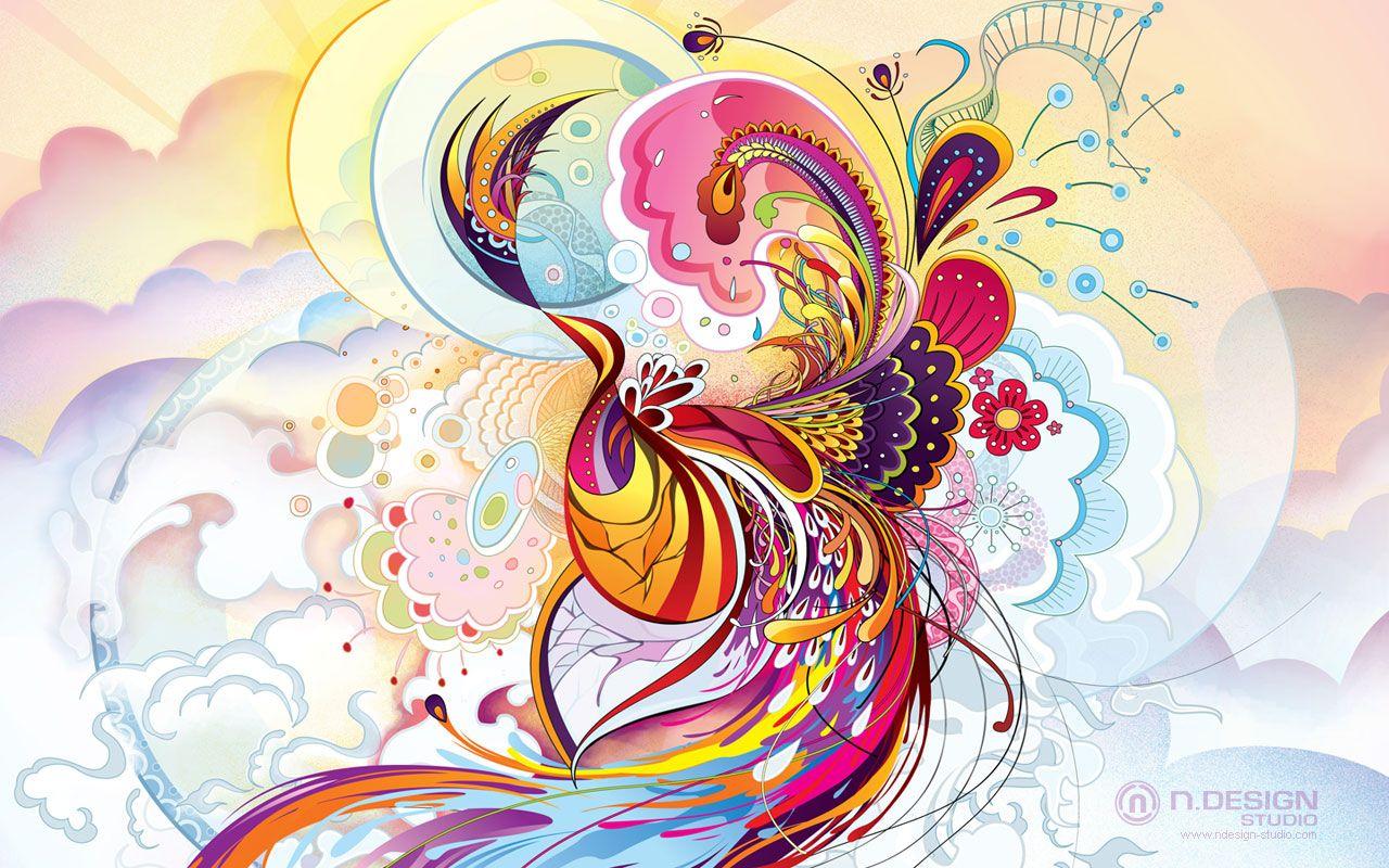 Cool abstract art designs wallpaper free hd desktop httpwww wallente