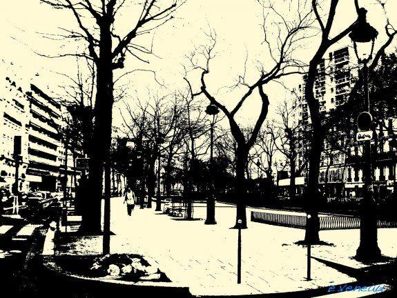 Empreinte #031. Boulevard Richard Lenoir, Paris, France, 2009 (© Emmanuel Veneau).