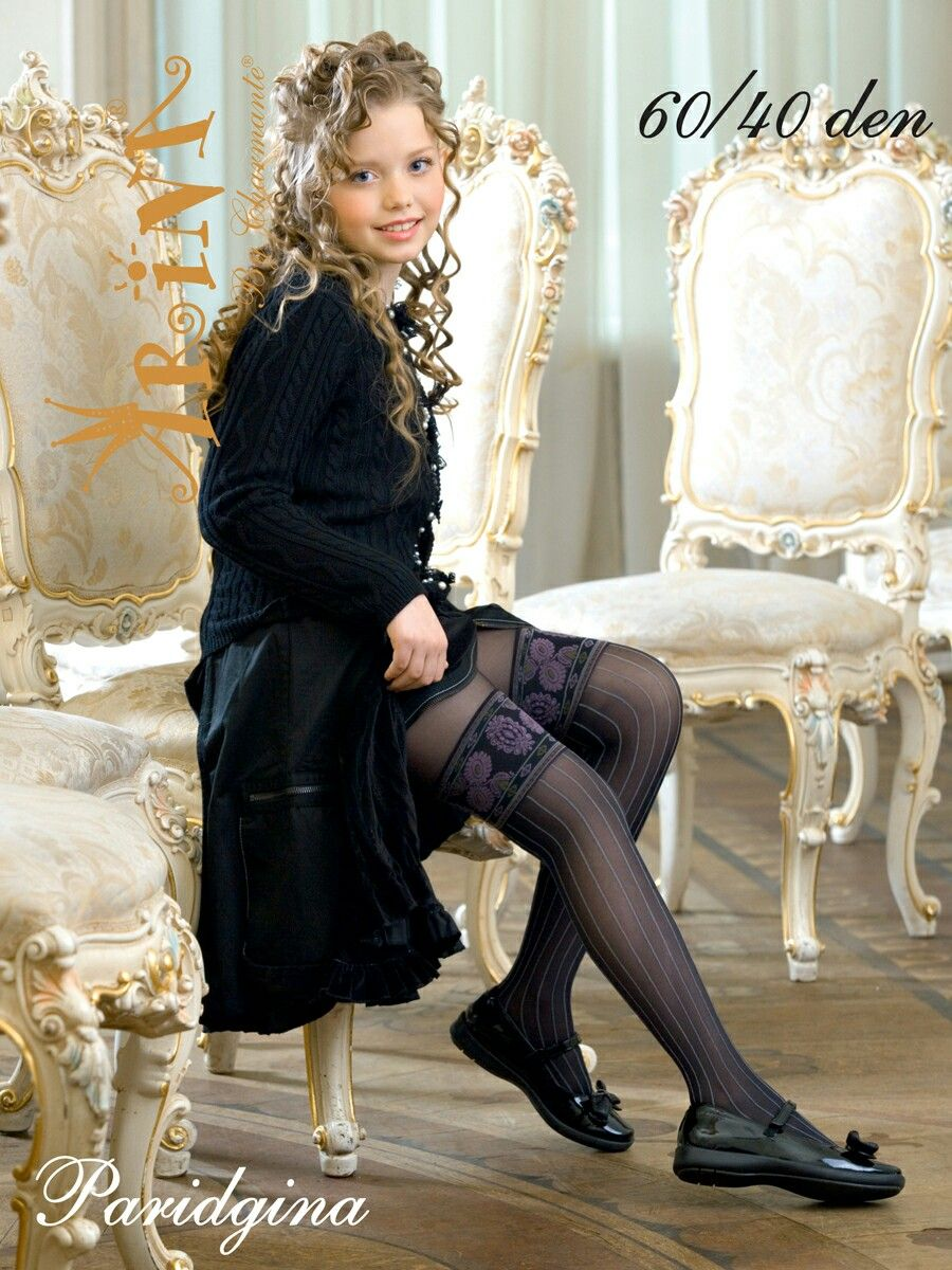 tiny young teen girl white stockings