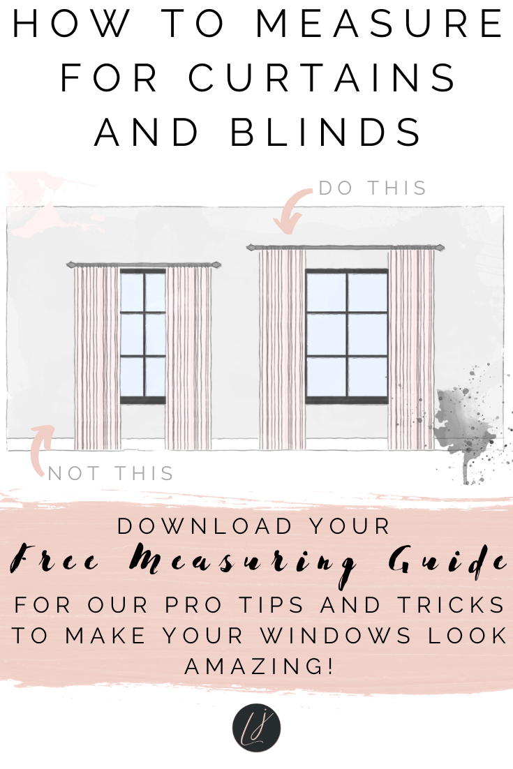 How To Measure For Curtains And Blinds Interor Design Online Interior Design Windows
