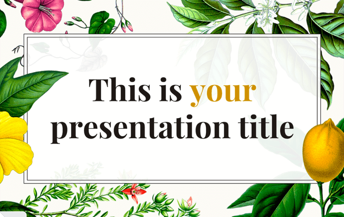 constance free presentation template free templates for google