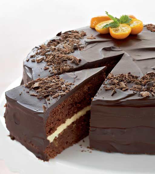 Suklainen appelsiinikakku