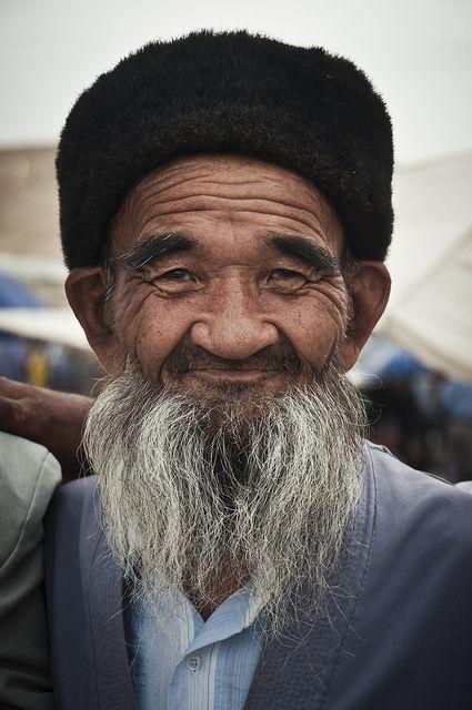 Market portrait . Uzbekistan