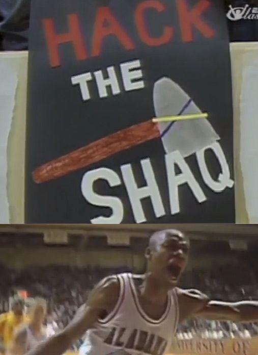 1992 LSU Vs Alabama Shaq Sprewell Horry