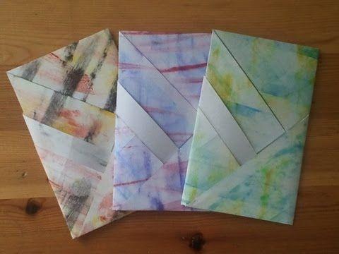 Fold Letter Envelope Levlhajtogats Tutorial  Youtube By Anik
