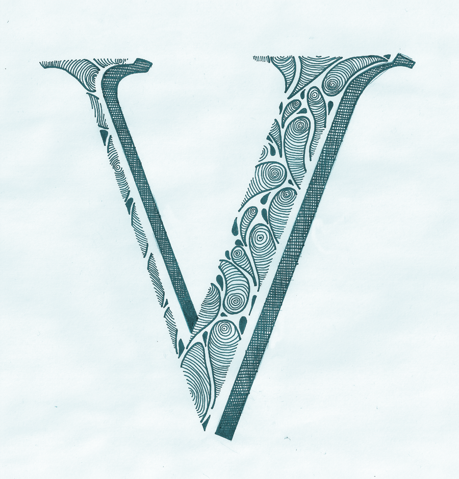 today is brought to you by the letter v cool