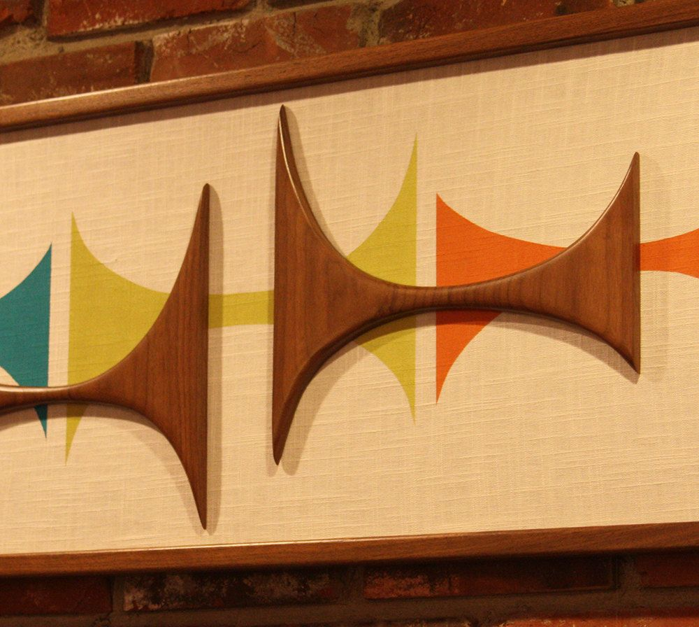 Mid Century Modern Witco Abstract Wall Art Sculpture Painting Atomic ...