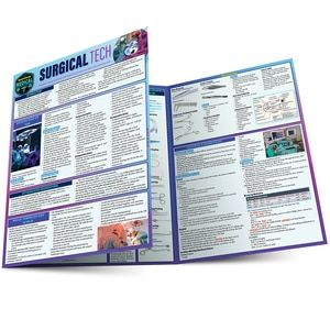 QuickStudy | Surgical Tech  Laminated Study Guide #surgicaltechnologist