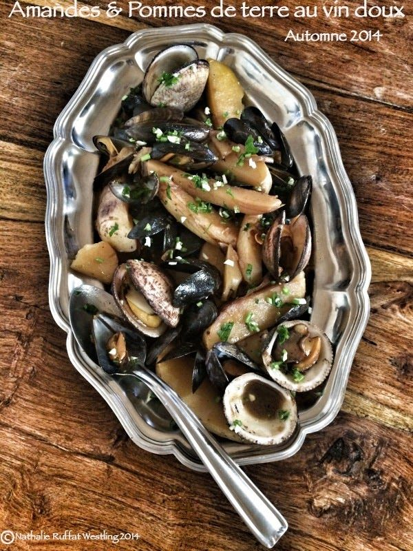 les cuisines de garance: pommes de terre & coquillages au vin doux