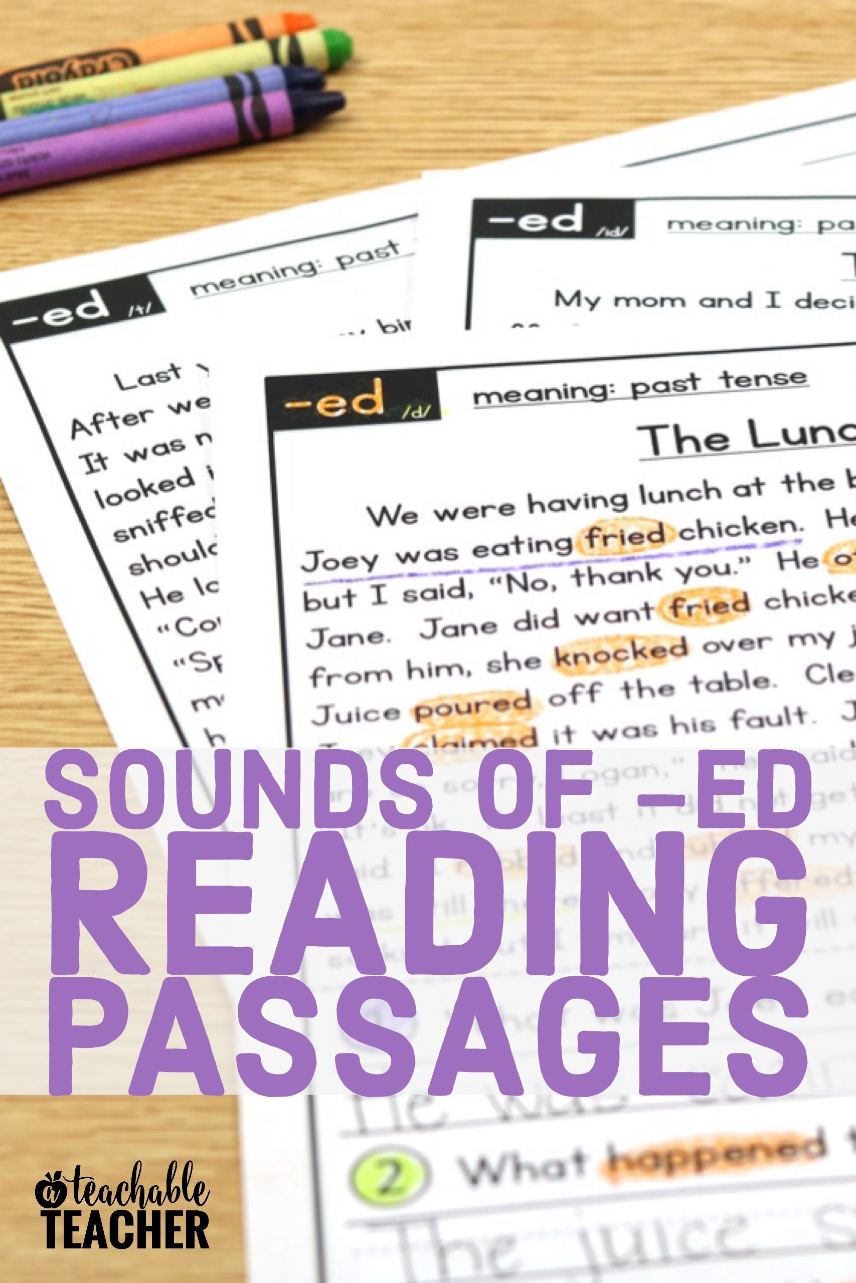 Prefix And Suffix Reading Passages All In One
