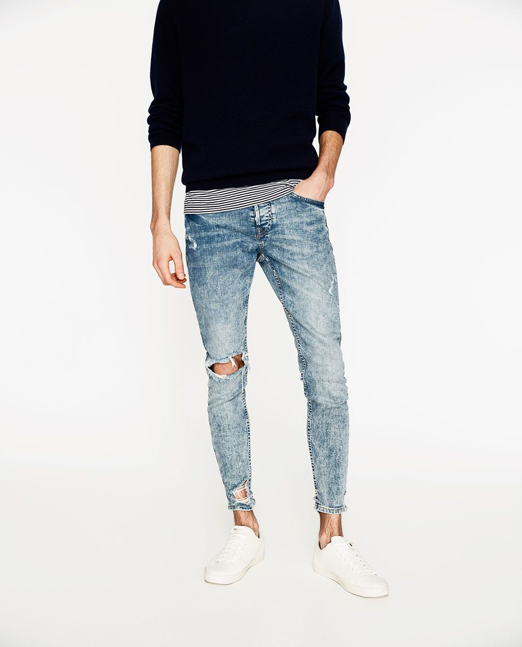 09413c5e54d RAW EDGE SKINNY JEANS - Available in more colours | men's style ...