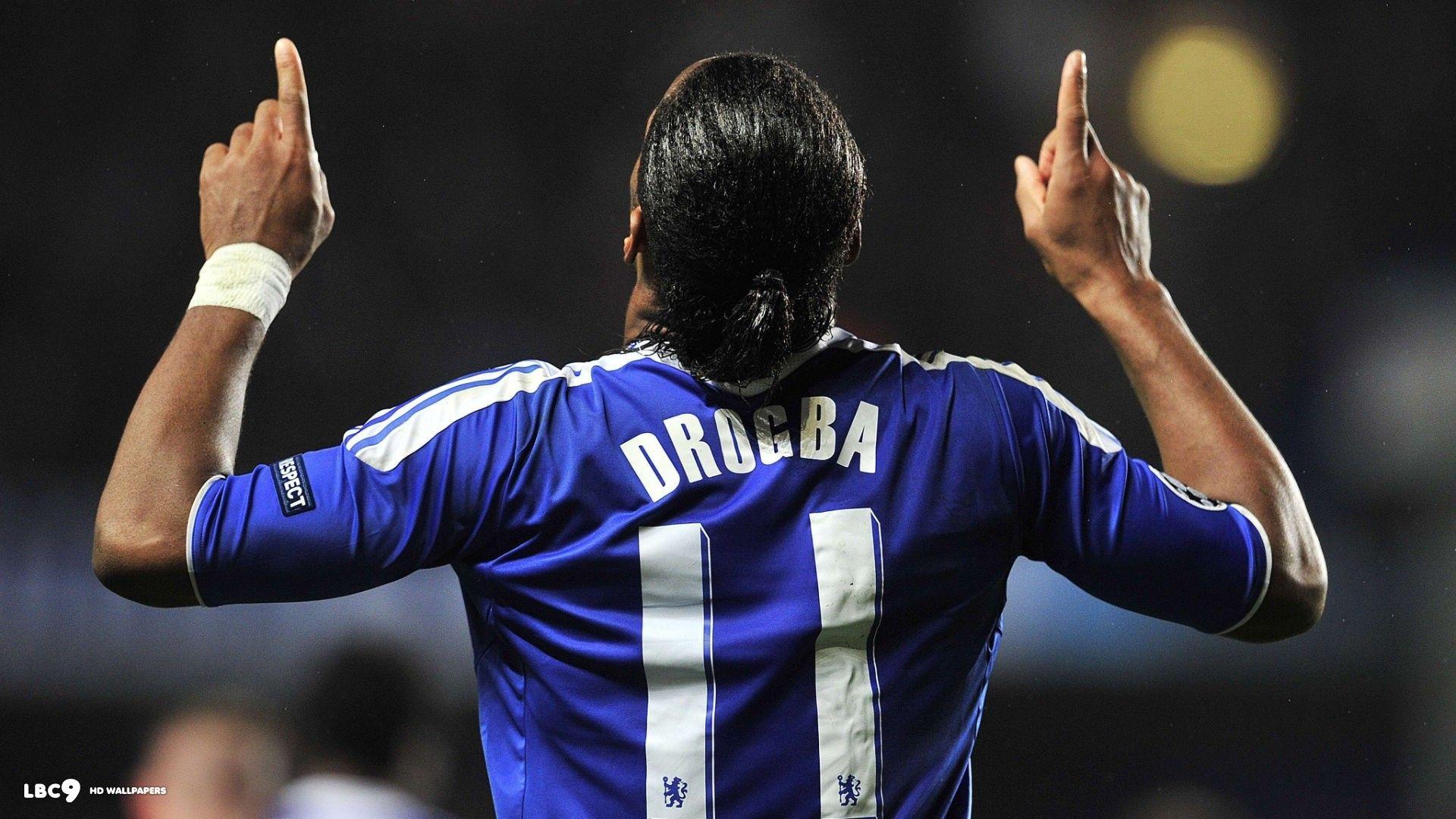 People 1920x1080 Chelsea FC Didier Drogba men soccer sport sports ... 9d767b108