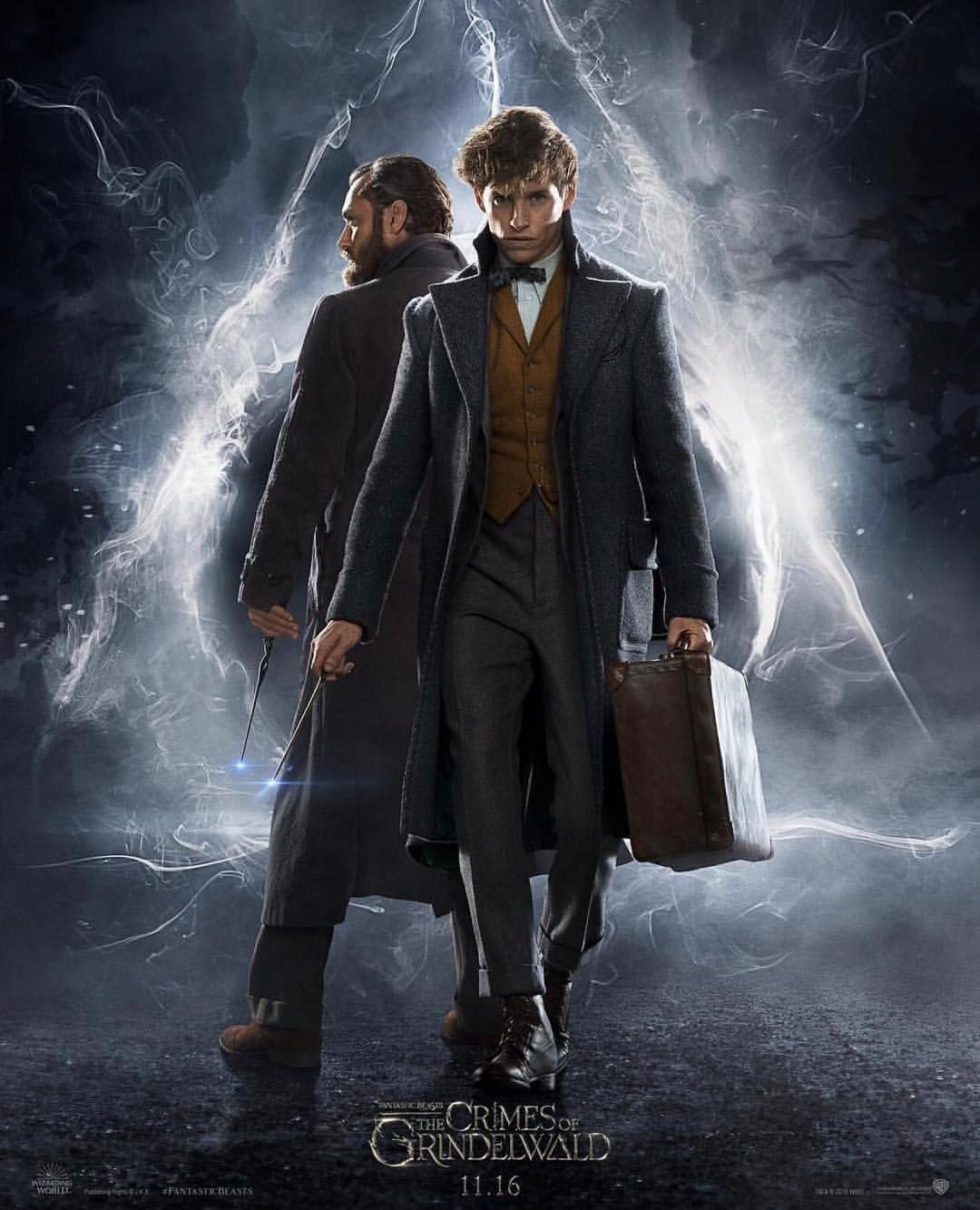 Yes It S Really Here Watch The First Trailer For Fantasticbeasts The Crimes Of Grindelwald An Fantastic Beasts Fantastic Beasts Movie Crimes Of Grindelwald