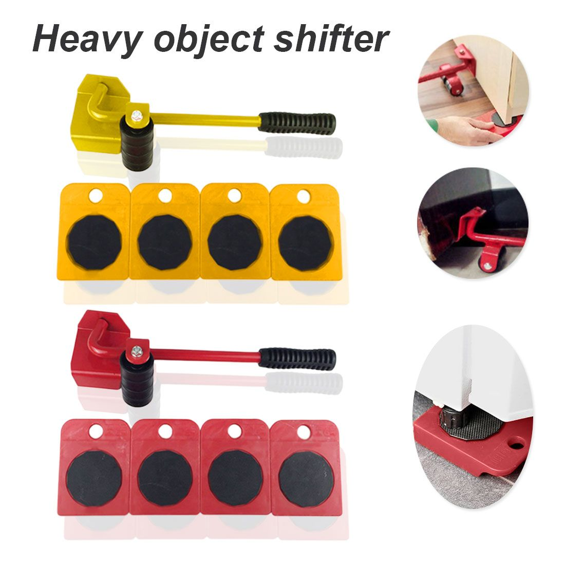 Easy Furniture Lifter Mover Tool Set Heavy Stuffs Moving Hand Tools Set Wheel Bar Mover Device Furniture Transport Tool Eas In 2020 Hand Tool Set Tool Set Cool Items