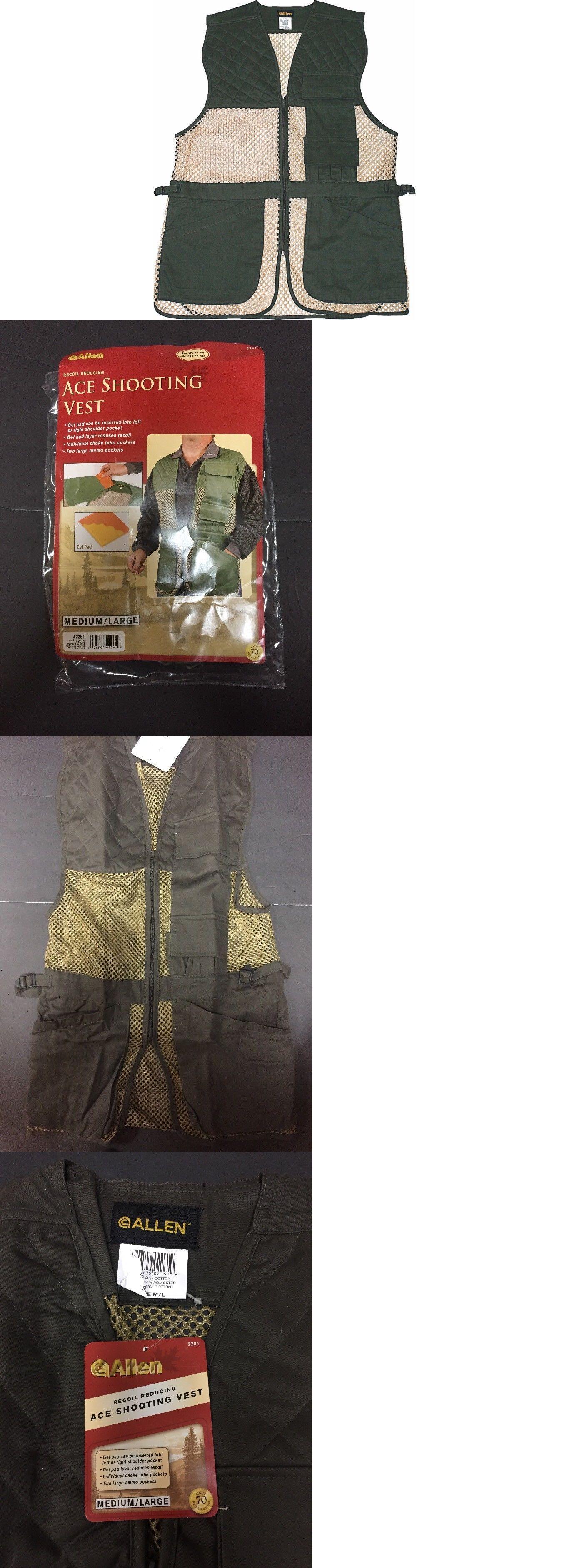 d0b2d94d588d6 Vests 178080: Allen Company Ace Recoil Reducing Shooting Vest M L Right  Hand Or Left Hand