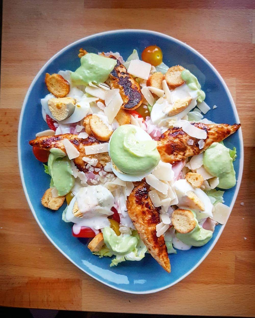 Resep Salad C 2019 Brilio Net Resep Salad Makan Siang Salad Sayur