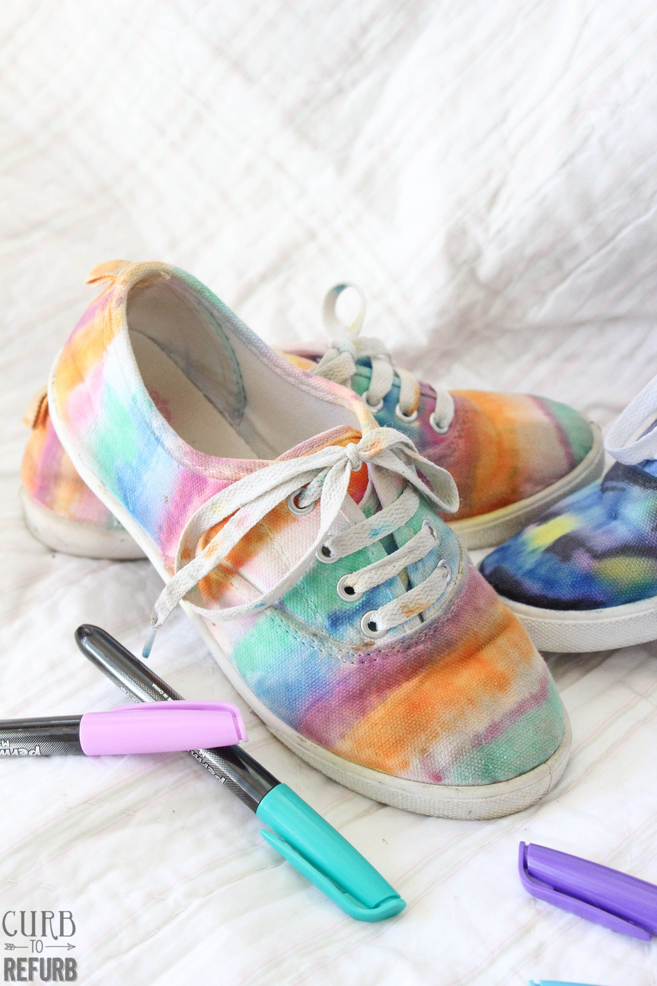 Image Result For Tie Dye Shoe