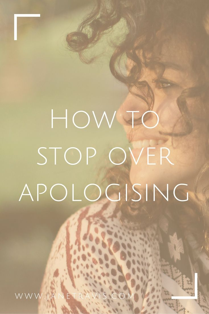 If someone bumps into you and you hear yourself say sorry, then this post is for you! If you want to discover simple ways to stop saying sorry when you've done nothing wrong, read on.
