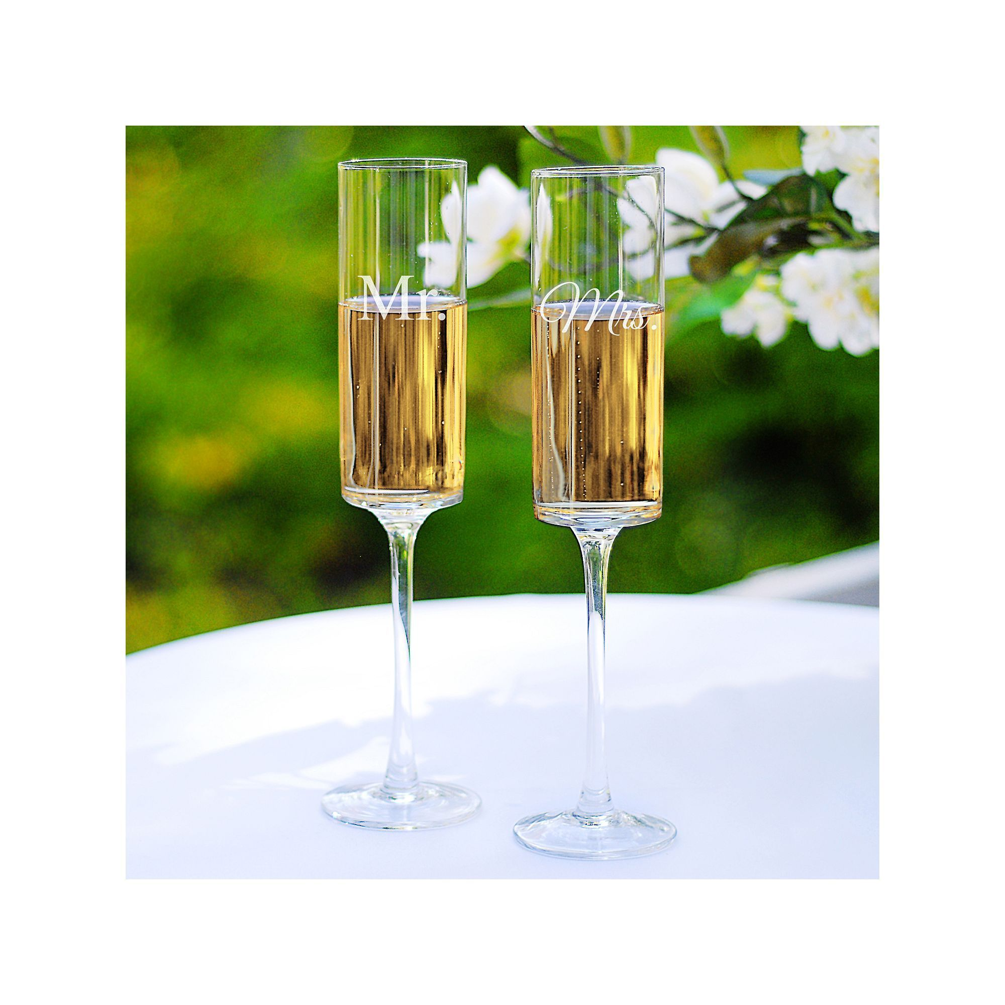 Cathys concepts couples 2pc contemporary champagne