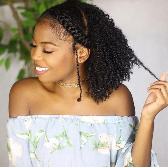 35 Gorgeous Natural Hairstyles For Medium Length Hair Medium