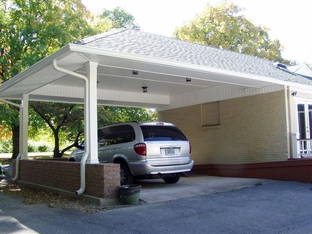 Crazy cool carports carport ideas car ports and carport for Different carport designs
