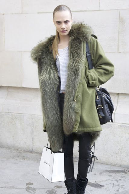 Street Style Celebrities: Cara Delevingne