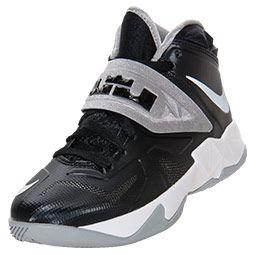 finest selection dd3ef a5386 Boys  Grade School Nike Soldier 7 Basketball Shoes   FinishLine.com   Team  Black   Basketball Shoes   Pinterest   Christian, Black and Fashion