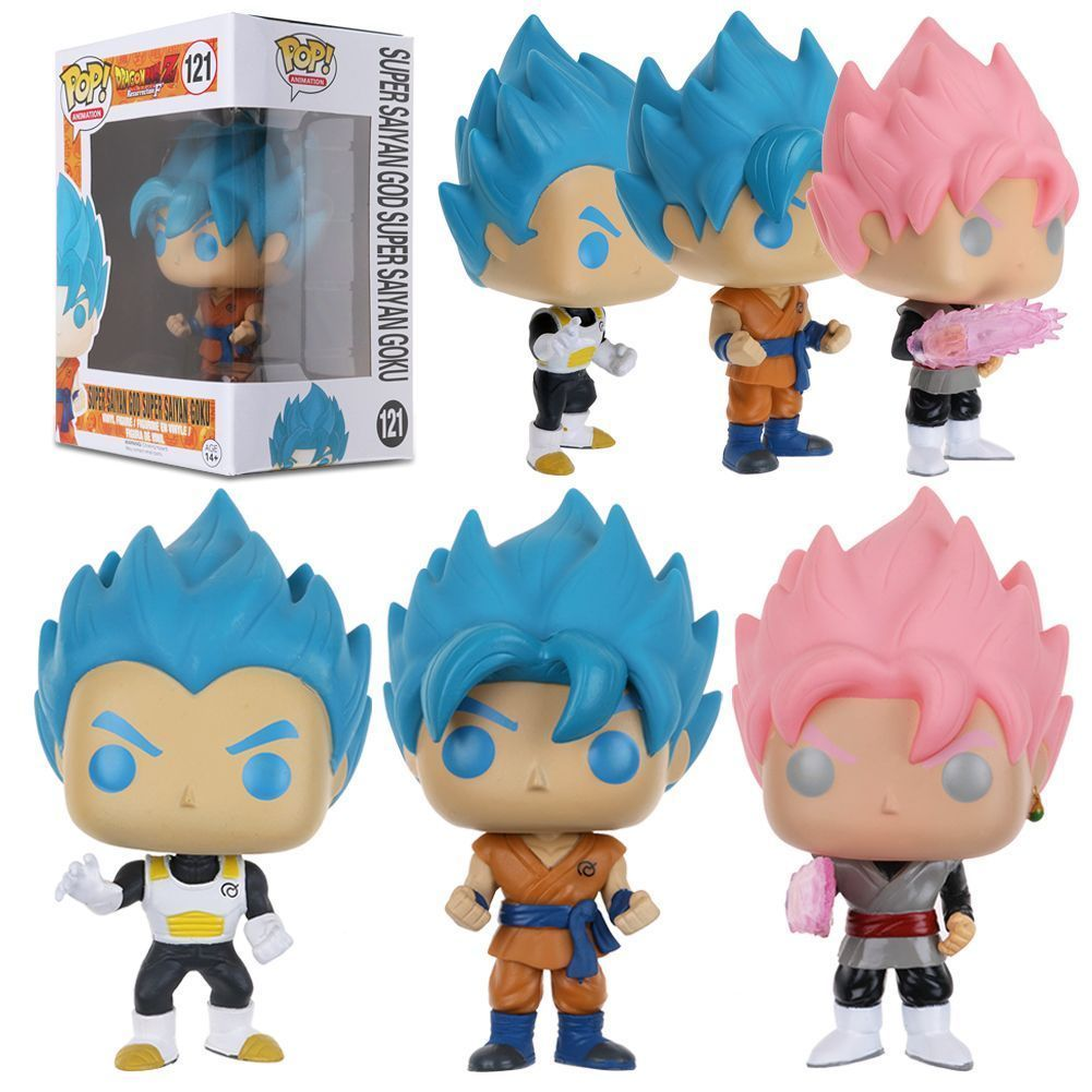 fdac07cf183 Blue Goku Blue Vegeta Exclusive Pop Dragon Ball Z Super Saiyan Hot Toy   ebay  Collectibles