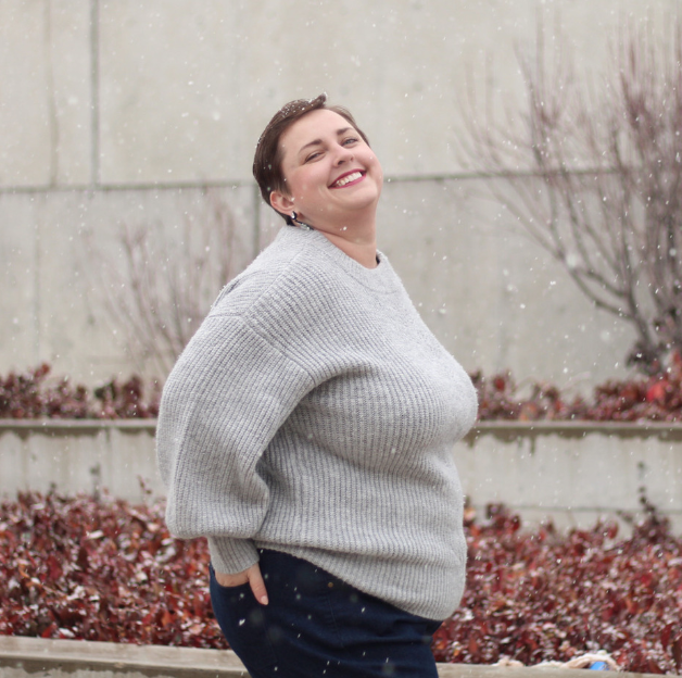 Photo of Measure & Made Customized Plus Size Jeans | Apple Shaped [Sponsored] – The Huntswoman