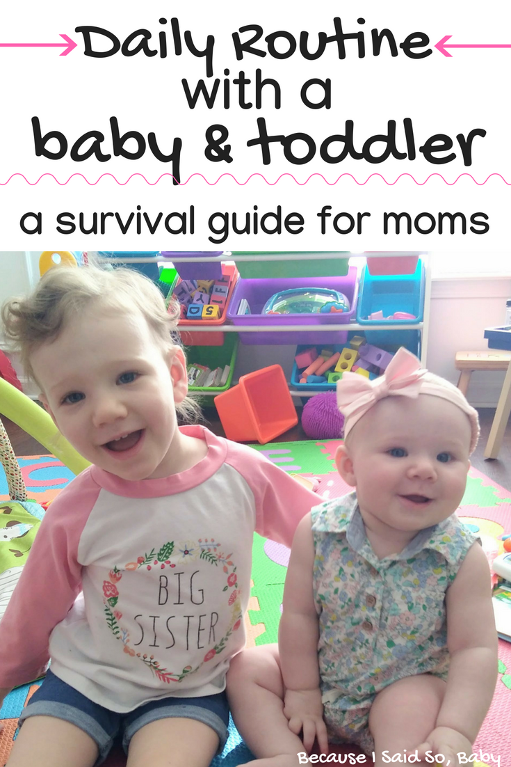 How To Manage A Baby And Toddler As A Stay At Home Mom Toddler Schedule Baby Care Tips Toddler Bedtime
