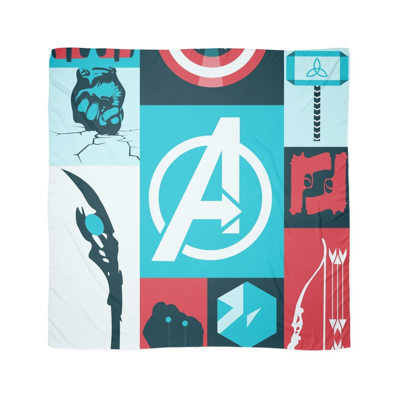 'earth's mightiest' Scarf by OnyxMayMay in 2020