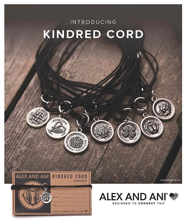 Alex and Ani Kindred Cord Token of Love Bracelet