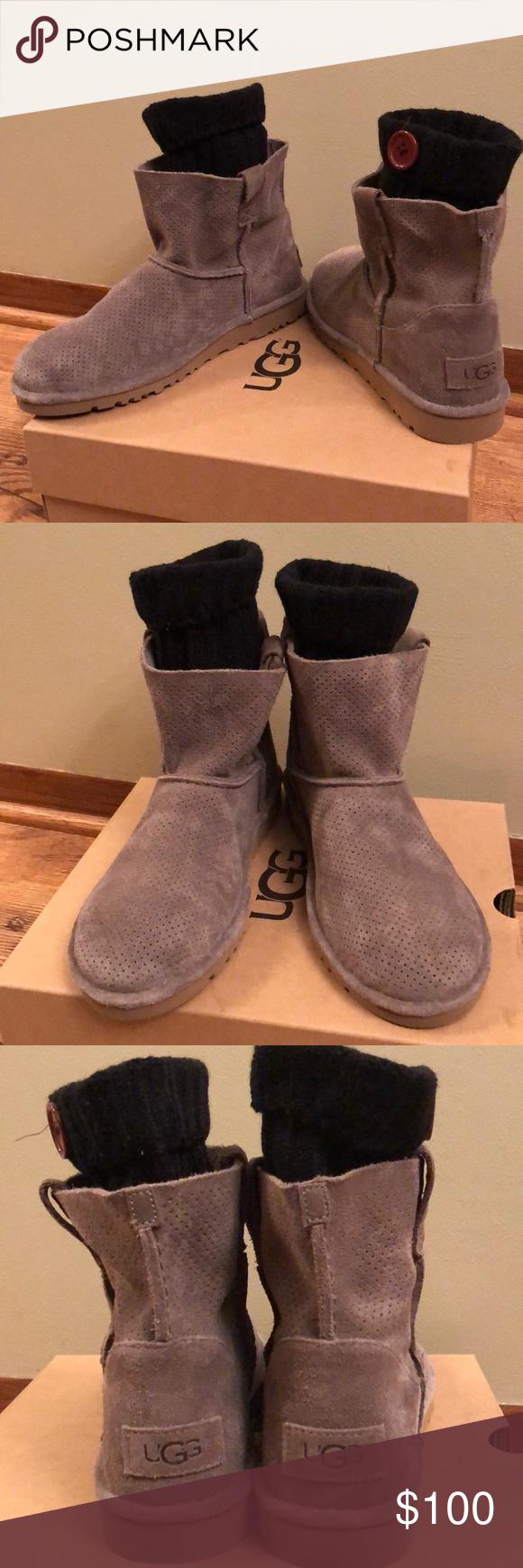 3d2bbc19efb UGG Classic unlined Mini/perf boots NWT in 2019   My Posh Picks ...