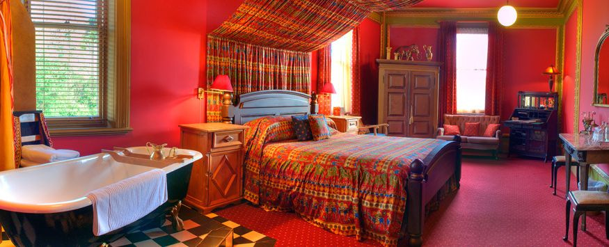 Colorful Indian inspired bedroom... unique! | i want this for my ...