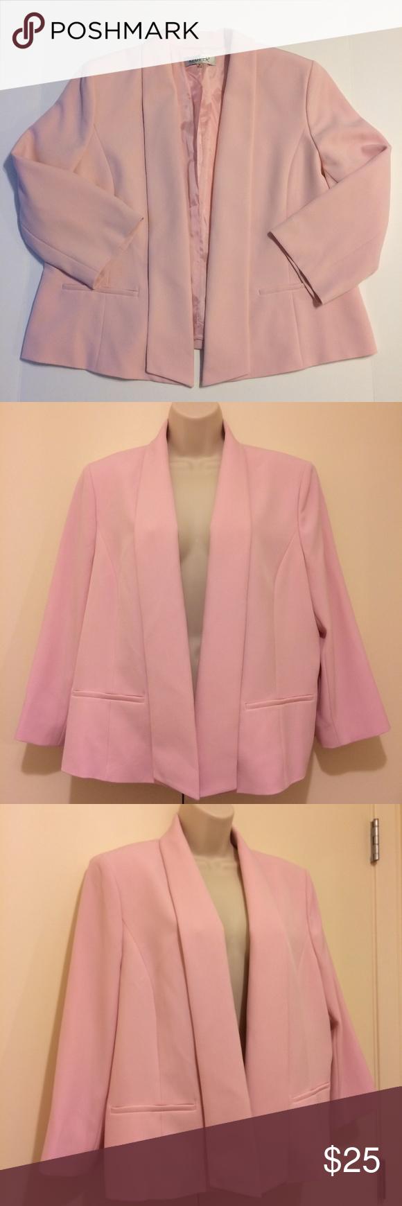 708600629c2 Kasper Jacket Ladies Size 16 Pink Career Blazer Kasper Jacket Blazer  Women s  Size 16