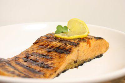 Ginger miso salmon