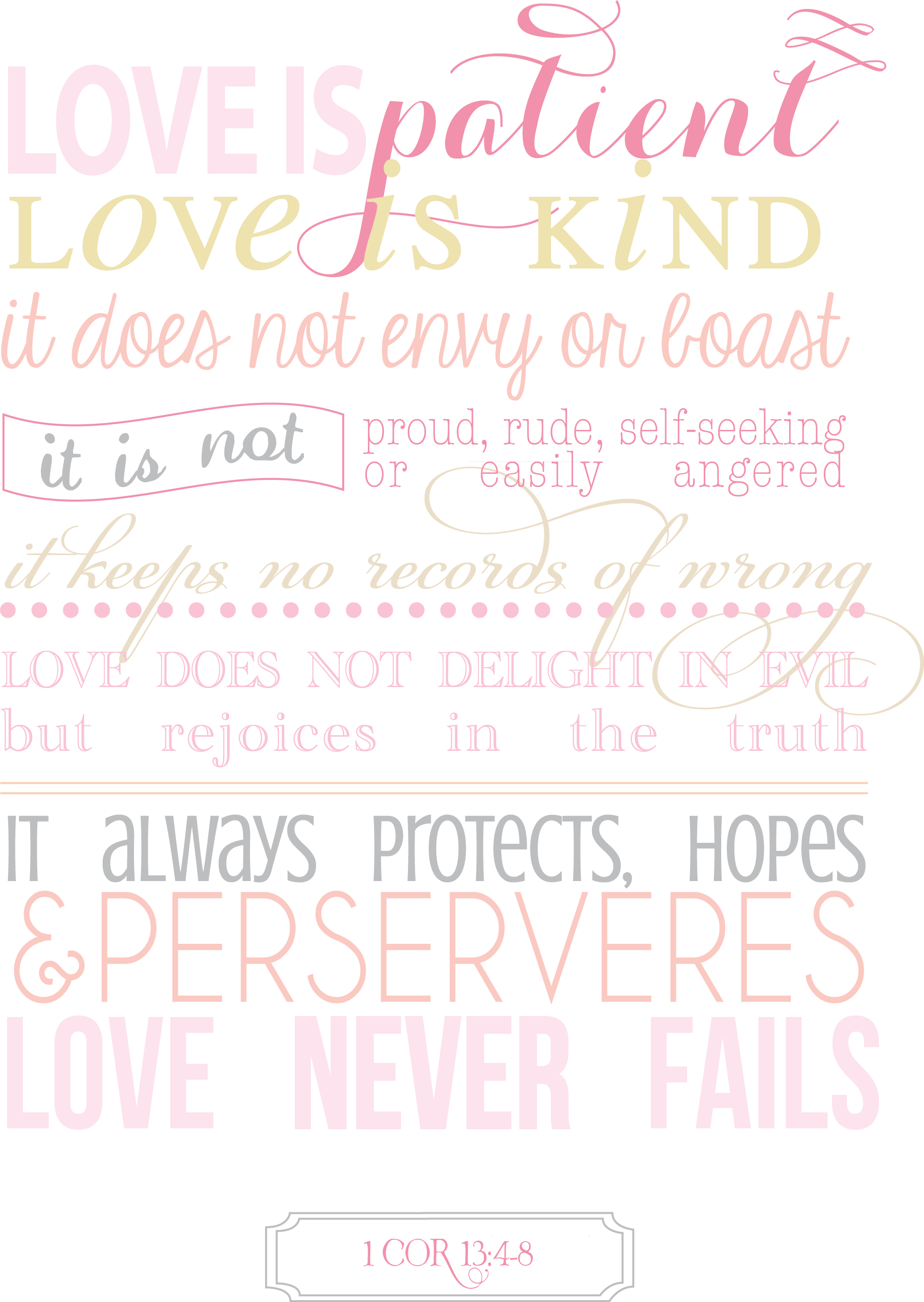 Bible Quotes For Girls Free Printable Bible Quote Bible Verse Scripture Inspiration