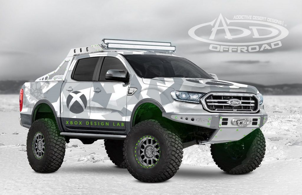 2019 Ford Ranger Lands At Sema Ahead Of Next Year S Launch In
