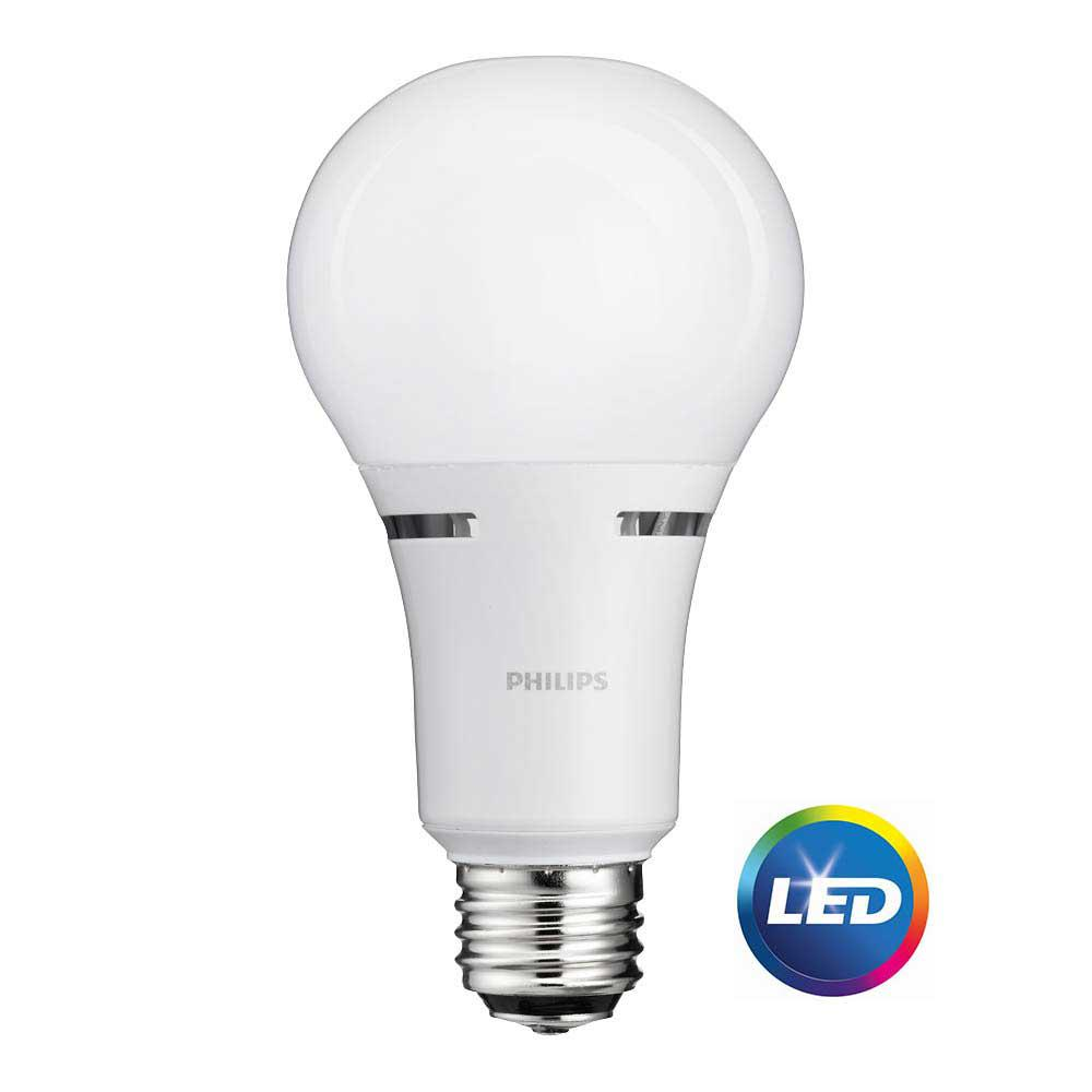 50 100 150w Equivalent Soft White 3 Way A21 Non Dimmable Led Light Bulb Dimmable Led Lights Philips Led Led Light Bulbs