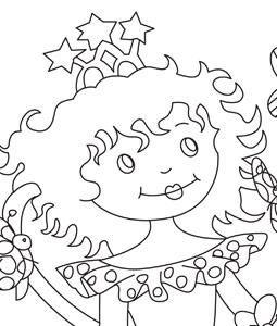 Kleurplaten Prinses Lillifee.Prinsessen Kleurplaat Knutsel Ideeen Fairies Kids Rugs Fairy