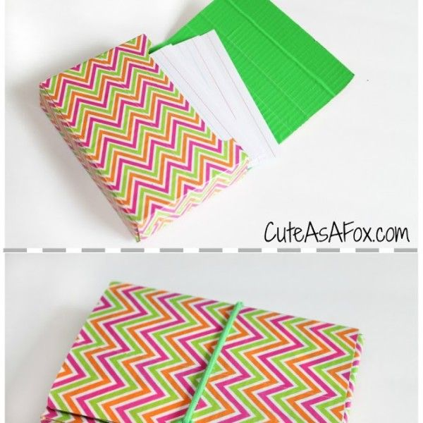 Duck Tape Flash Card Holder Index Card Holders Card Holder Diy Recipe Card Holders