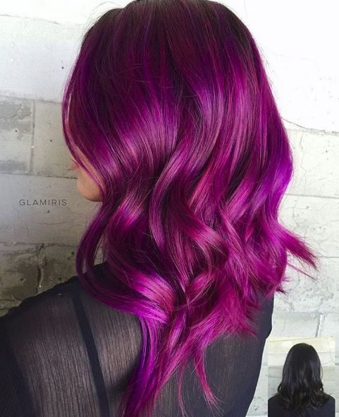 red and purple hair styles pink purple hair hair colour ideas pelo colores 8184 | 91ec5c5edbea31d08e773105f0a21cd3