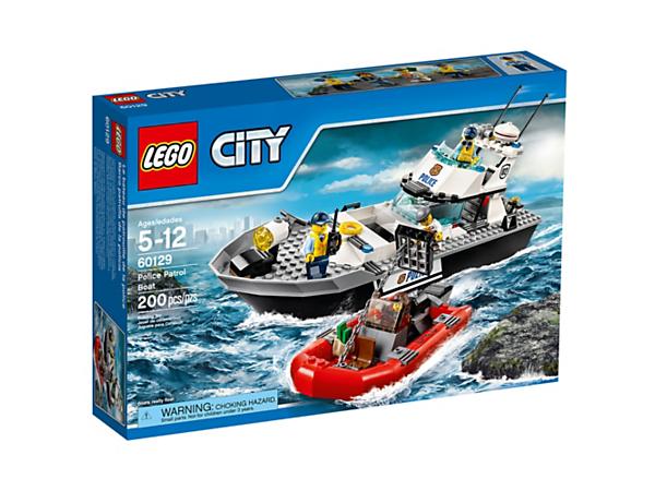Police Patrol Boat 60129 City Buy Online At The Official Lego Shop Us Lego Police Lego City Lego City Police