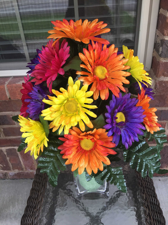 Cemetery flowersmemorial flowersstyrofoam vase insert