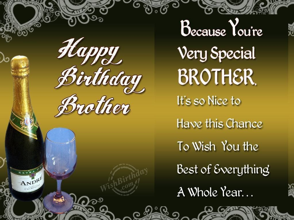 1000 ideas about Birthday Greetings For Brother – Birthday Greetings for Brother