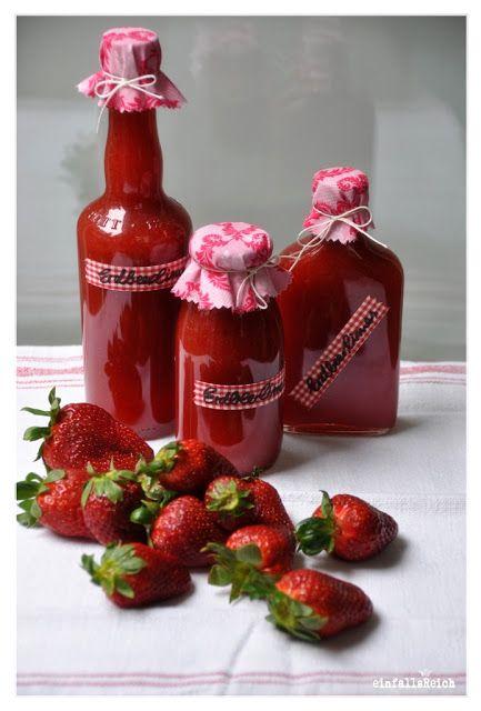 einfallsReich: :erdbeerlimes und anderer kram ...