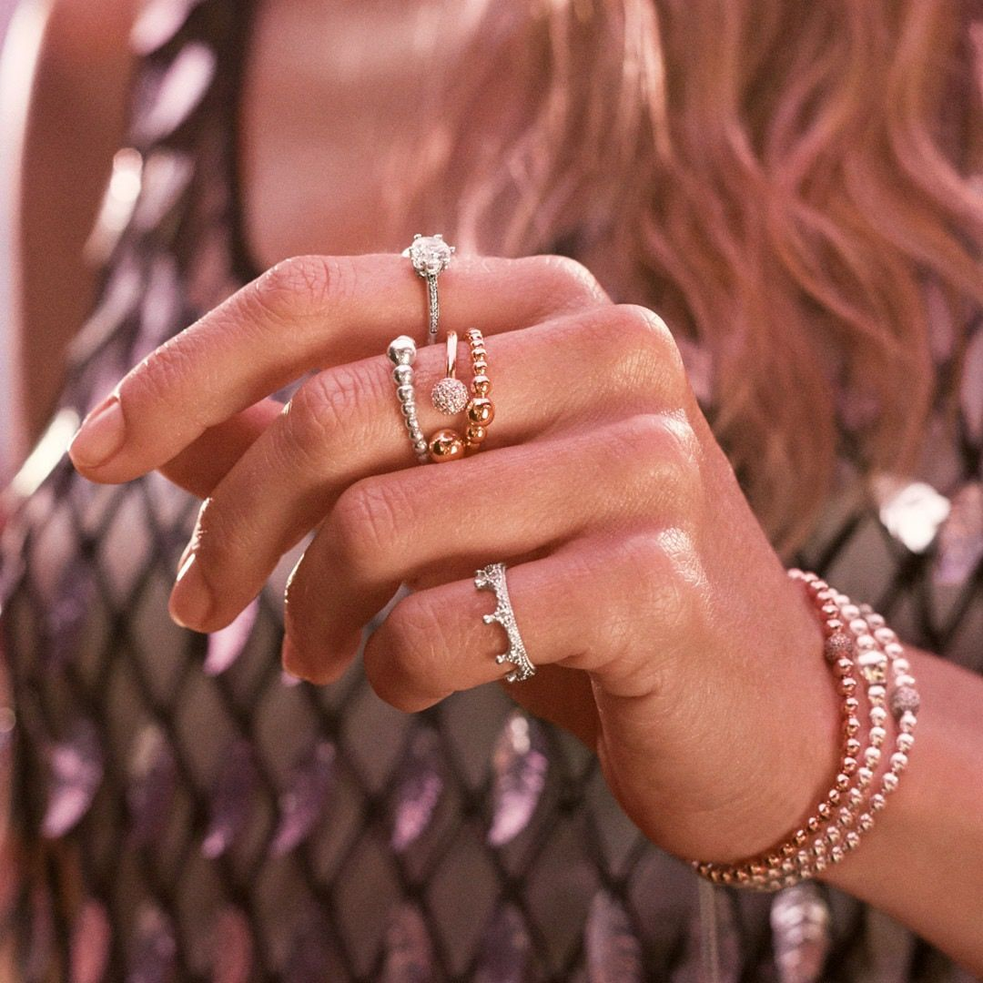 Perfect For Everyday In Every Way Pandora Stacking Rings From Holland S Jewelry Hollandsje Pandora Jewelry Pandora Rings Stacked Pandora Jewelry Bracelets